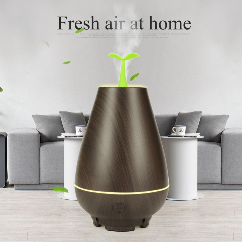100ml Portable Mini USB Humidifier Warm Light Desktop Electric Silent Essential oil spreader Humidifier Aromatherapy Diffuser in Incense Incense Burners from Home Garden