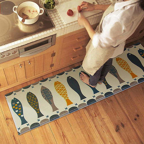 Multicolor Rugs Bedroom Kitchen Doormat Bathroom Toilet Feet Mat Non Slip Carpet