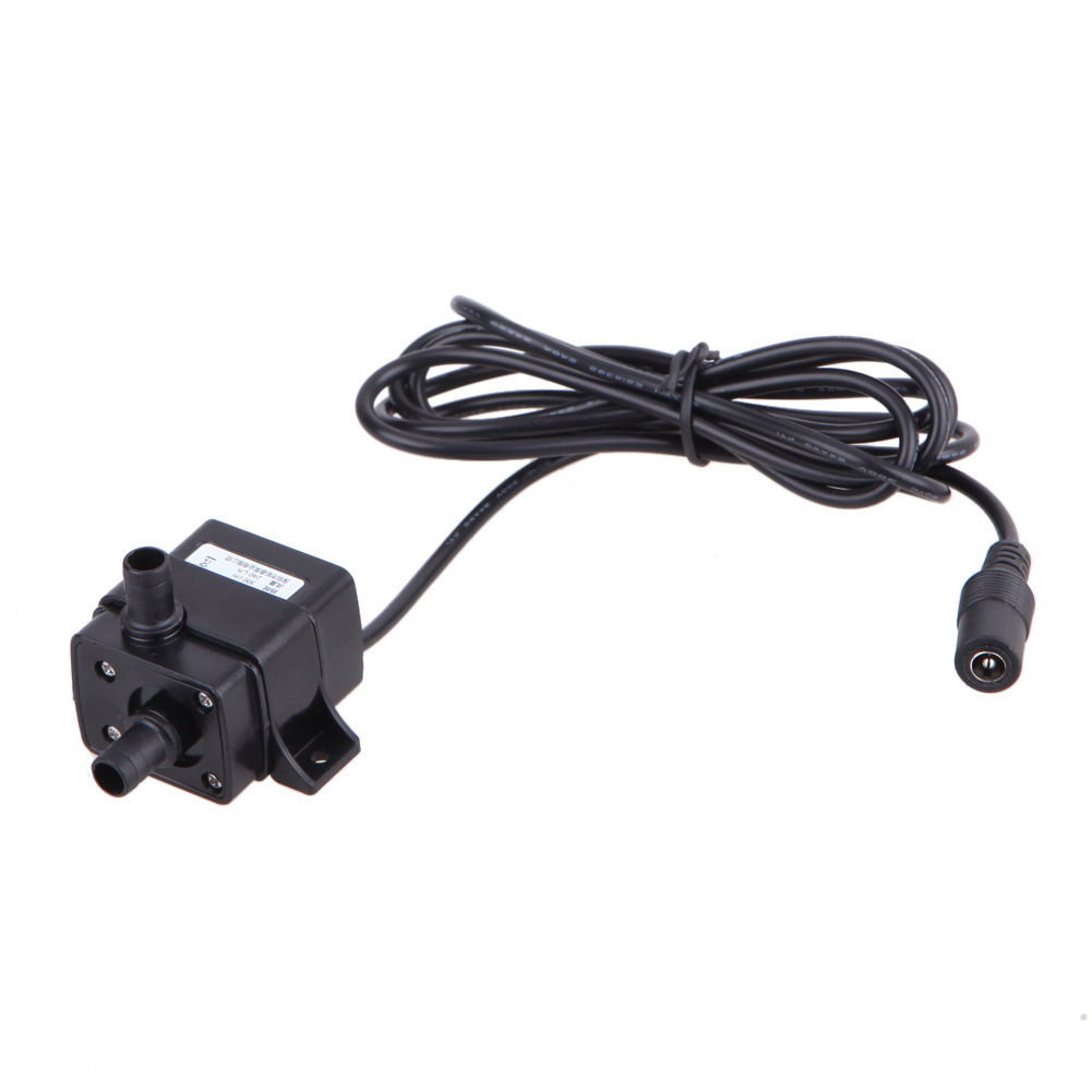 Dc12v 240l H Brushless Water Pump 3m Wire Fish Aquatic Pet Supplie Wiring Dc 12v Ip68 Ultra Quiet