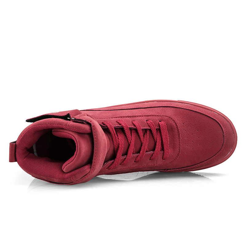 Bravover Mannen Schoenen Casual Sneakers Hoge Top Fashion Schoenen Mannelijke Koele Hoge Schoenen Hoge Kwaliteit