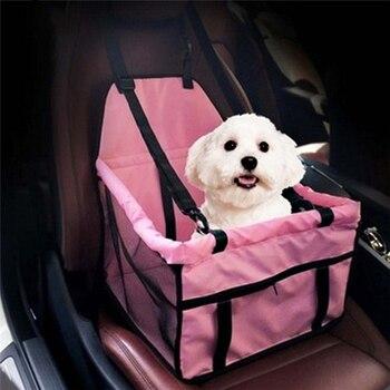 Nuevo portador de perros para mascotas, asiento de coche, casa segura, bolsa para cachorros, accesorios de viaje para el coche, cesta para perros, productos para mascotas