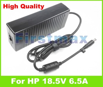 18.5V 6.5A AC adapter for HP Laptop charger 463953-001 519331-001 519331-002 579799-001 608426-001 609941-001 ED519AA ED519AA#AB фото