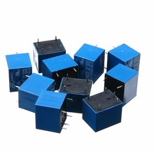 цена на 2pcs/5pcs/10pcs SRD-12VDC-SL-C Power Relay T73-12V 10A 5 Pins Electrical Components Relays Supplies