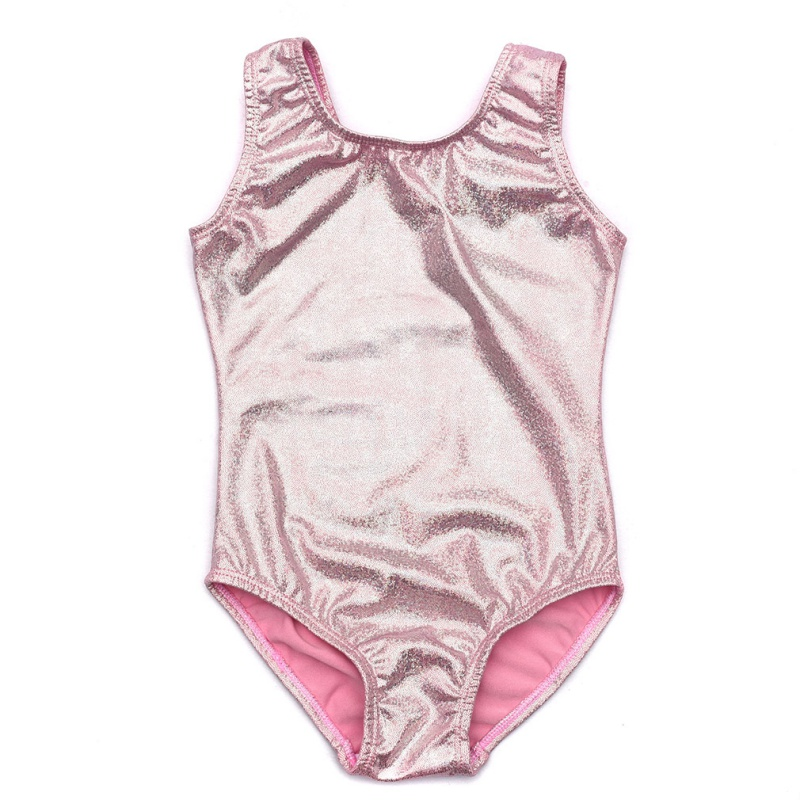 EFINNY New Style Ballet Dancewear Kids Girls Gymnastics Leotards Ballet Dance Wear Tank Bodysuit Costumes For 3~12 Years