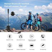 E1 Wireless Motorcycle   Helmet   Built-in Bluetooth   Headset