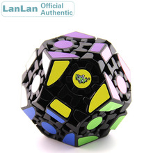 LanLan Gear Megaminxeds Magic Cube Dodecahedron Professional Neo Speed Puzzle Antistress Fidget Educational Toys For Children