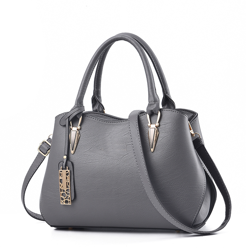 SUONAYI New Brand Women Business Handbag Fashion Shoulder Bag Casual Large Capacity Women Bag Designer PU Leather Tote Bag in Shoulder Bags from Luggage Bags