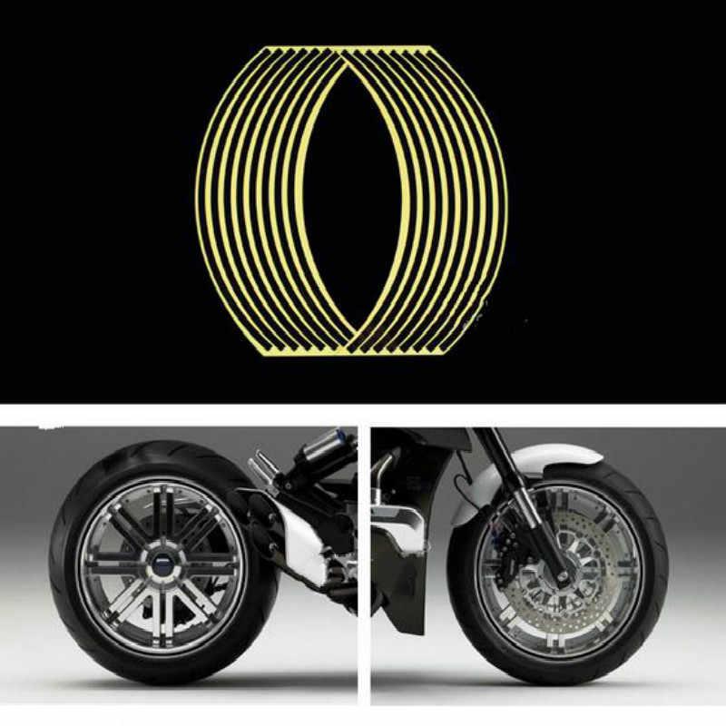 شرائط عجلة دراجة نارية ملصقا عاكسة الشارات ريم الشريط الدراجة تصفيف السيارة لياماها MT-09 المتتبع BMW K1600 GT GTL