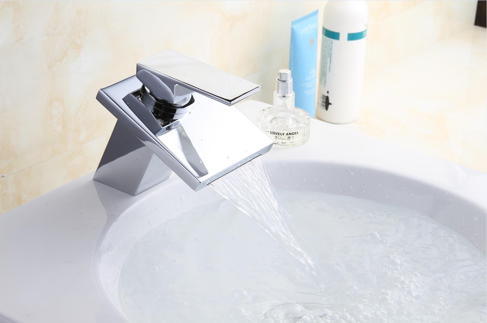 HongJing Copper Sifang Wide Waterfall Basin Faucet Manufacturers ...