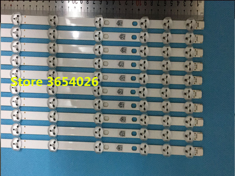 10pcs  32 inch LED Backlight for LG Sharp 32'' TV 32D1334DB LC32LD145K VES315WNDL-01 VES315WNDS-2D-R02 HA5000 VESTEL 574mm