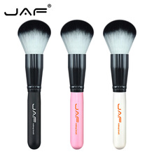 JAF Face Make Up Powder Brush Foundation Super Soft Synthetic Hair Contour Blusher Base Makeup Beauty Tool 18SW