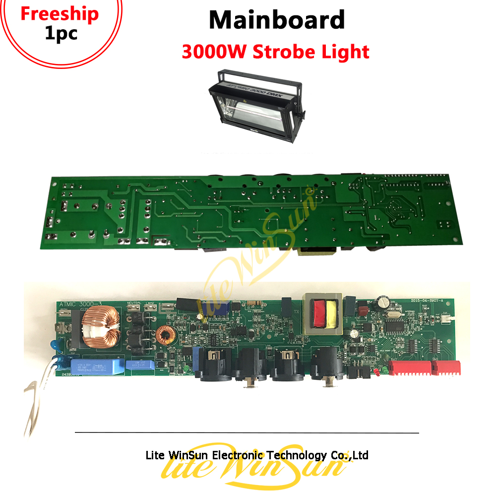 Litewinsune Freeship Atomic 3000 DMX Strobe Lighting Mainboard Mother Board For Atomic3000 Flast Lighting