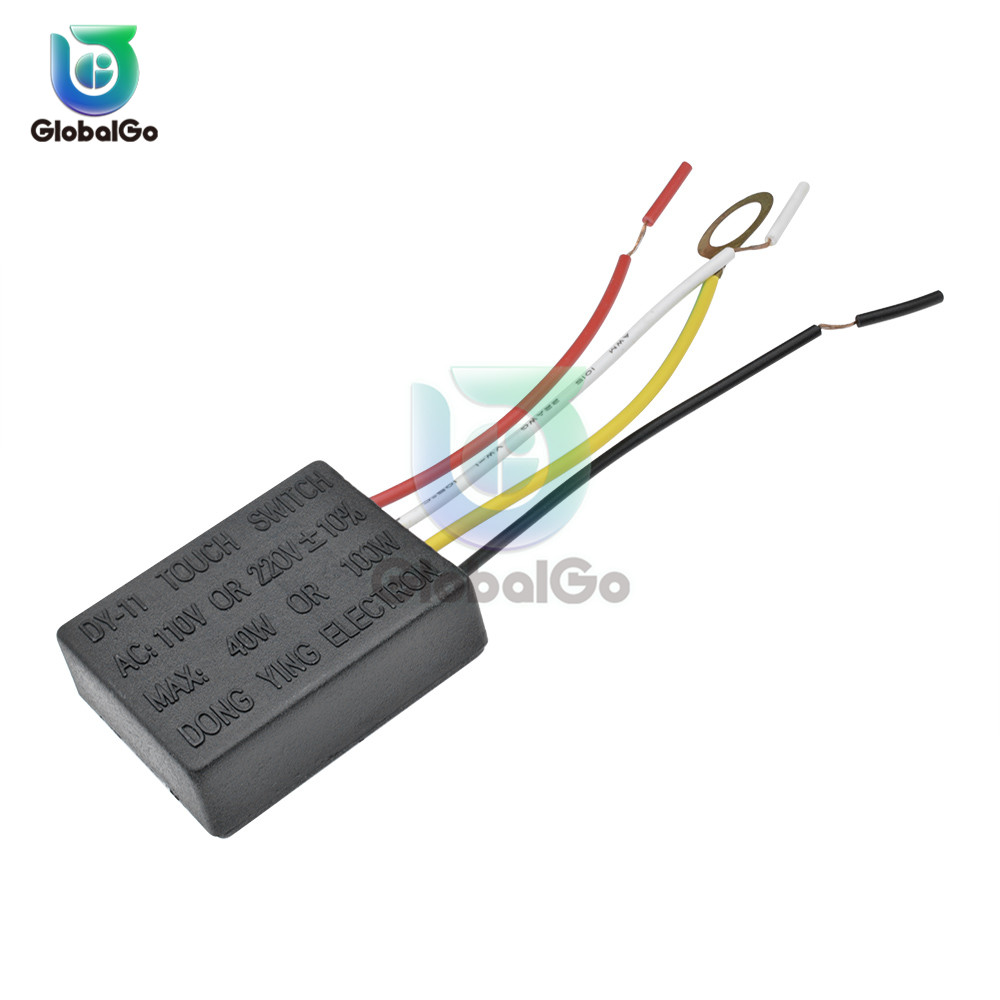 AC 110V 220V 1 Way 3 Way Table Light Parts On Off Touch Sensor Switch Touch Control Sensor Dimmer For Bulbs Lamp Switch