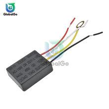 Interruptor de encendido y APAGADO para bombilla, Sensor táctil de 1 vía, 3 vías, partes del cuadro eléctrico, 110V, 220V, CA