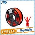 PLA 1 75 мм 1 кг/2.2lb нити материалы 1 75 pla расходные материалы красный цвет пластиковые нити для 3D принтера экструдер или 3d Ручка