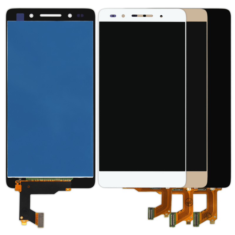 10pcs <font><b>Smartphone</b></font> Replacement For Huawei Honor 7 LCD Touch Screen Assembly Lens Digitizer AAA Quality LCD <font><b>DHL</b></font> Free Shipping
