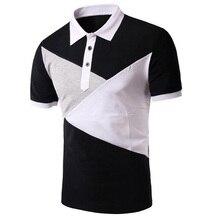 Casual male summer black cotton short font b polo b font shirt Slim font b men