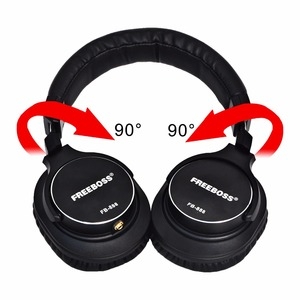 Image 2 - FB 888 Over ear Closed 45mm Drivers Single side Detachable cable 3.5mm Plug 6.35mm Adapter Monitor Headphones Headband Headset