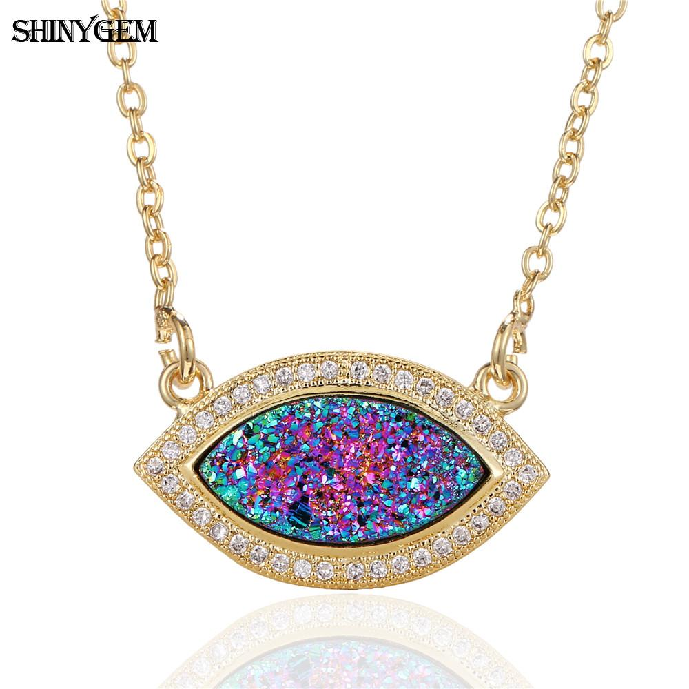 Aliexpress Com Buy 2 In 1 Constellations Pendant Amulet: Aliexpress.com : Buy ShinyGem Fashion Crystal Evil Eye