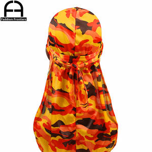 Turban Men Durag Headwear Headband Hair Accessories Hat
