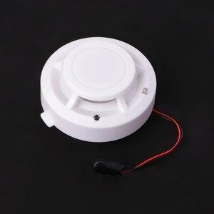 Image 4 - ความไวสูงใหม่ Photoelectric SMOKE Fire Detector แบตเตอรี่ 9V
