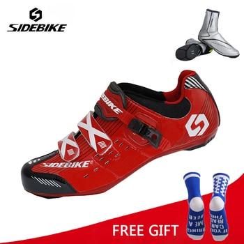 Sidebike Ciclismo Atlético Sapatos Ao Ar Livre Respirável Bicicleta de Estrada Sapatos Sapatos De Corrida De Bicicleta Ciclismo Zapatos
