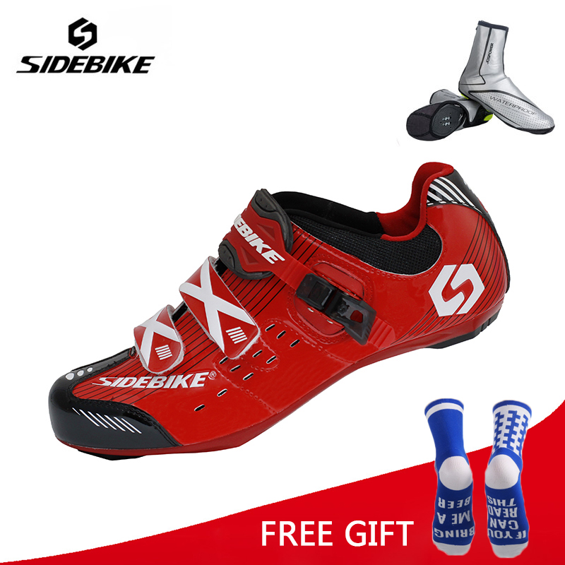 Sidebike Breathable Outdoor Athletic Cycling Shoes Road Bike Shoes Bicycle Racing Shoes Ciclismo Zapatos colour block breathable athletic shoes