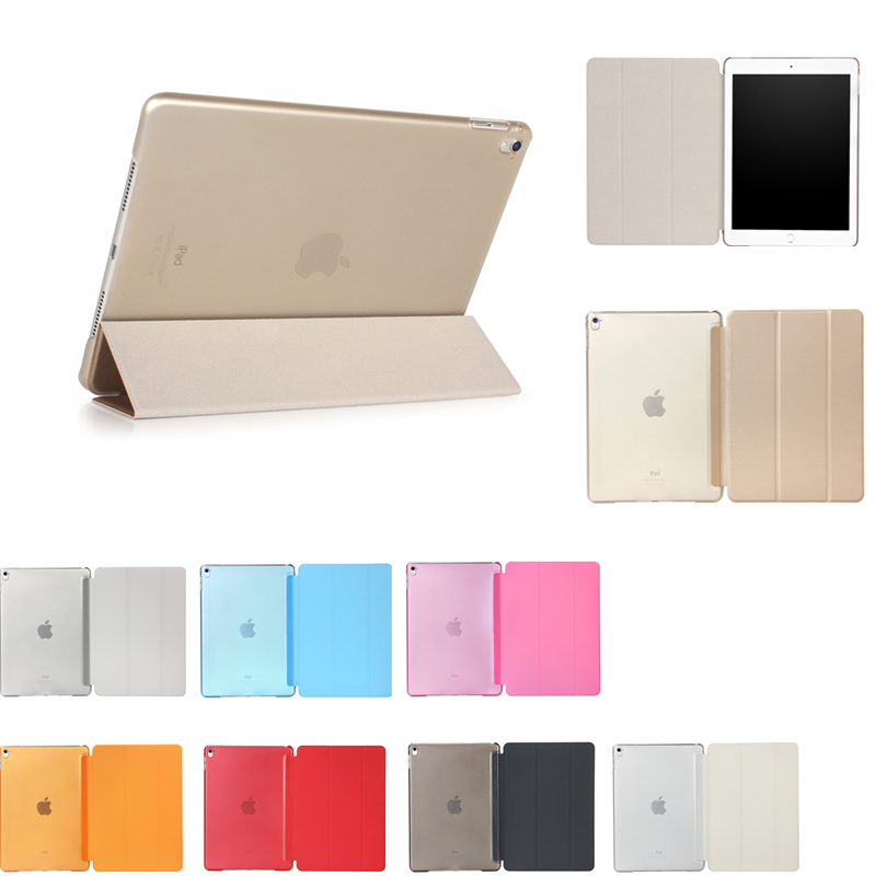 Case For iPad Air 1 TPU Back Cover For Apple iPad 9.7 New 2017 Smart Stand Tablet Wake up Sleep Flip Stand Case For iPad Air1