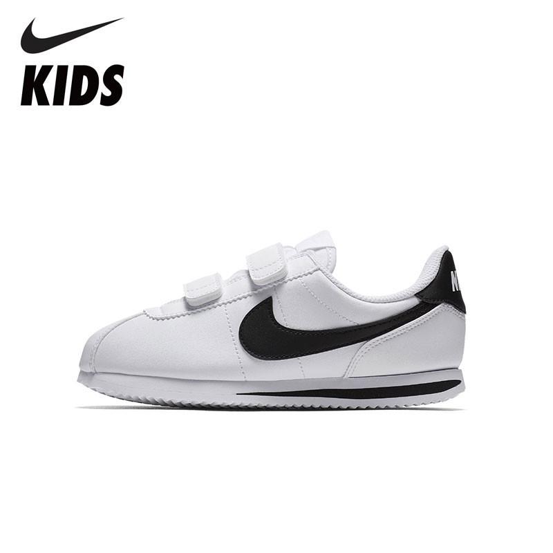 Najnowsza naprawdę wygodne oficjalne zdjęcia US $41.65 65% OFF|NIKE Kids Official Cortez Basic SL Toddler boys and girls  Kids Running Shoes comfortable Sneakers 904767-in Sneakers from Mother & ...