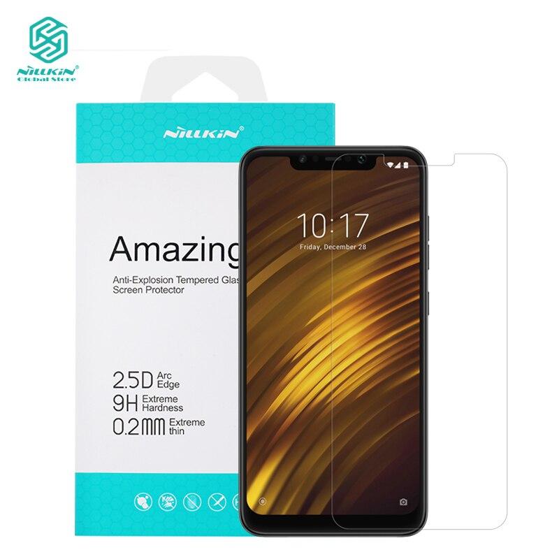 Nillkin 0,2mm de vidrio para Xiaomi Pocophone F1 Anti-explosión protector  de pantalla cce55527ef