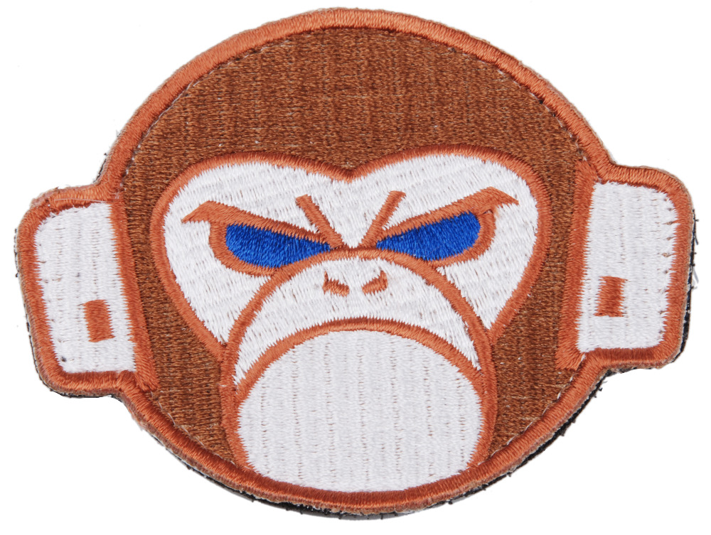 TACTICAL SWAT MILITARY TRUNK MONKEY EMBROIDERED  PATCH - 36291