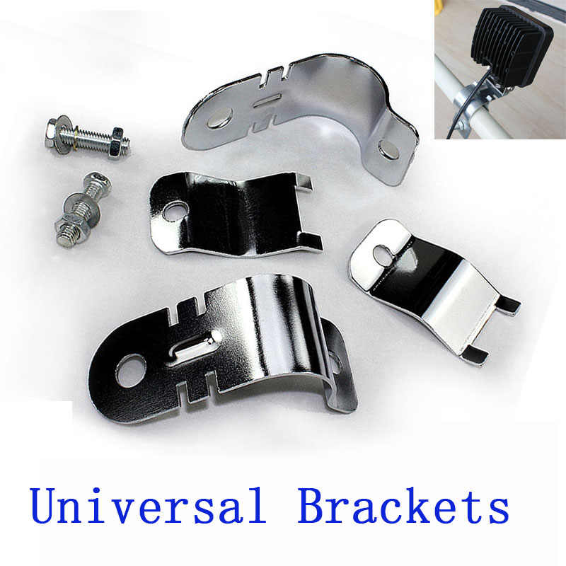 Universal Mounting Bracket for Tube Bull Bar Clamp Brackets Holder  for Pickup TV,car,truck,offroad,farm/industries vehicles
