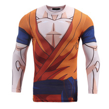 Japanese Anime  3D Print Cartoon T shirt Dargon Ball Z One Piece Punch Man Compression T-shirt Clothing