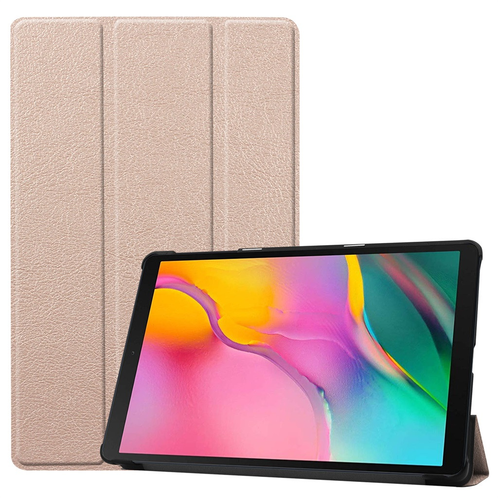 Tablet Cover For Samsung Galaxy Tab A SM-T515 2019 Tri-Fold Stand Leather Smart Case Tablet Case For Samsung Tab A 10.1 2
