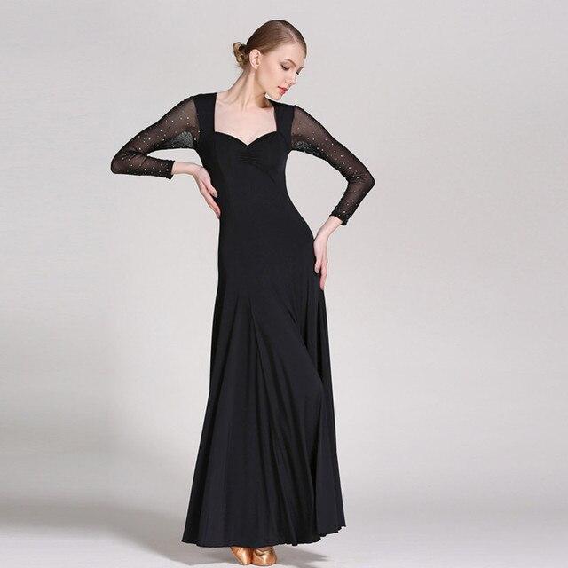 Nero camisa flamenco abiti da ballo sala da ballo abiti da ballo di danza  flamenco dance 28772cbb8b8