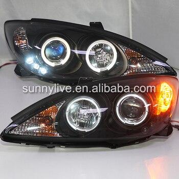 For Toyota Camry V30 2001-2006   LED Headlight BlackHousing  JY