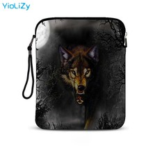 купить print wolf 9.7 inch Waterproof tablet protective case smart notebook bag pouch mini laptop sleeve PC Cover For women men IP-5793 дешево