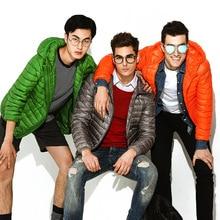 Cotoon Coat Male  Jacket Men Winter Jackets Lightweight Jackets Feather Parka Man