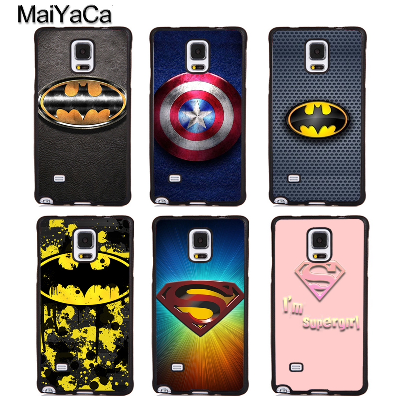 MaiYaCa Spiderman Marvel Deadpool Full Protective Phone Cases For Samsung Galaxy S5 S6 S7 edge Plus S8 S9 plus Note 4 5 8 Cover