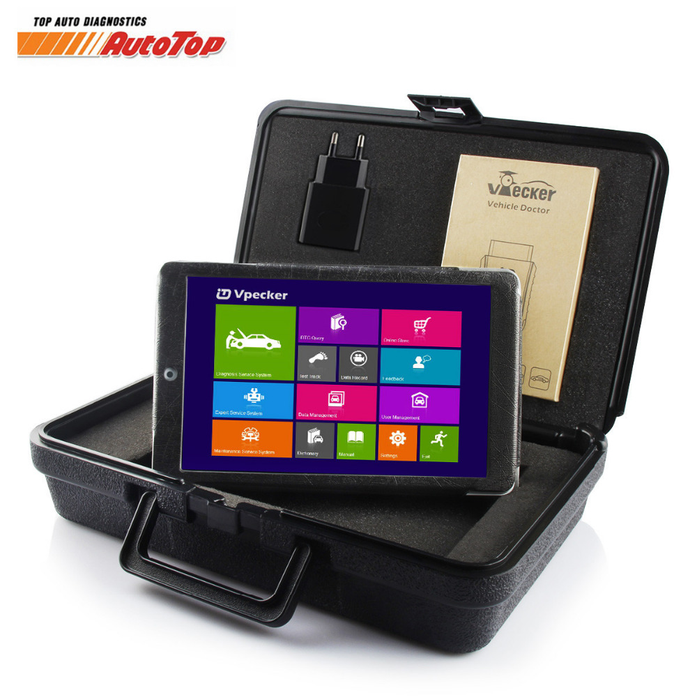 2018 NEUE Vpecker Easydiag ODB2 Automotive WIFI Auto Diagnose Werkzeug OBD2 Volle System Auto Scanner mit Tablet OBD Auto Scanner