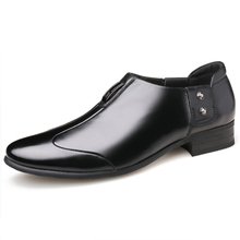 2019 Men Dress Shoes Plus Size 38-44 Business Flat Hot Breathable Fashion Formal Office Drop Ship