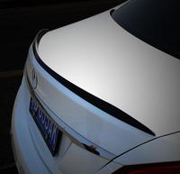 ペイント ABS 車のトランクリップスポイラー 15-17 ベンツ W205 4 ドア C クラス C63 c クラス c180 c200 c250 c300 c350