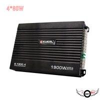 I Key Buy 12V 4 80W 4CH 4 Way Amplifier Car Audio Conversion Upgrader High Power