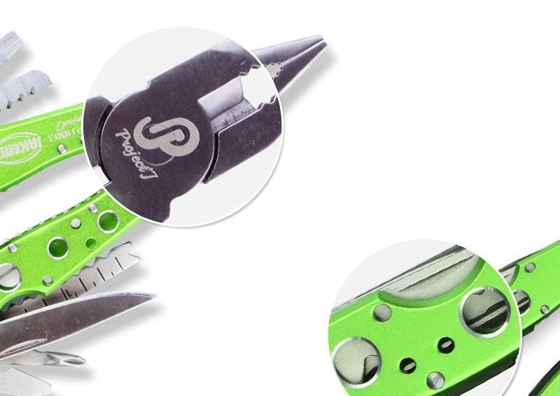 Mini wielofunkcyjny składany nóż wielofunkcyjny ze stali - Zestawy narzędzi - Zdjęcie 6
