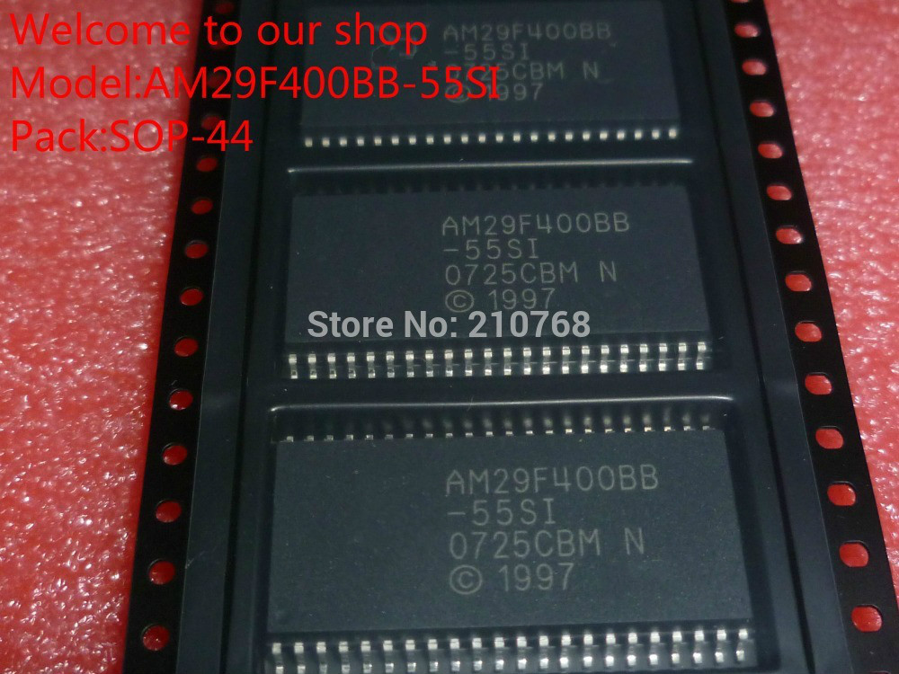 100 New Original AM29F400BB55SI AM29F400BB 55SI AM29F400BB AM29F400 SOP44