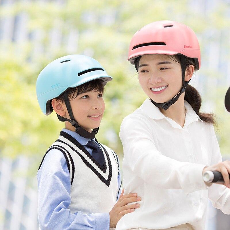 RYcoexs Xiaomi Smart4u Impermeable Ligero Ligero Flash Bicicleta Ciclismo Casco de Seguridad