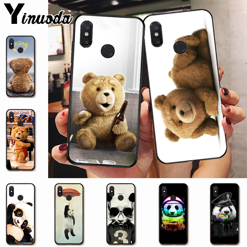 Babaite Cute Lovely Teddy Panda Novelty Fundas Phone Case Cover For Redmi 5plus 5a 6pro 4x Note5a Note4x Note6pro 6a Cases Cellphones & Telecommunications