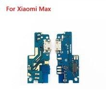 Usb 充電ポートフレックスケーブル xiaomi mi 最大 dock コネクタ充電ポートボード修理部品の高品質