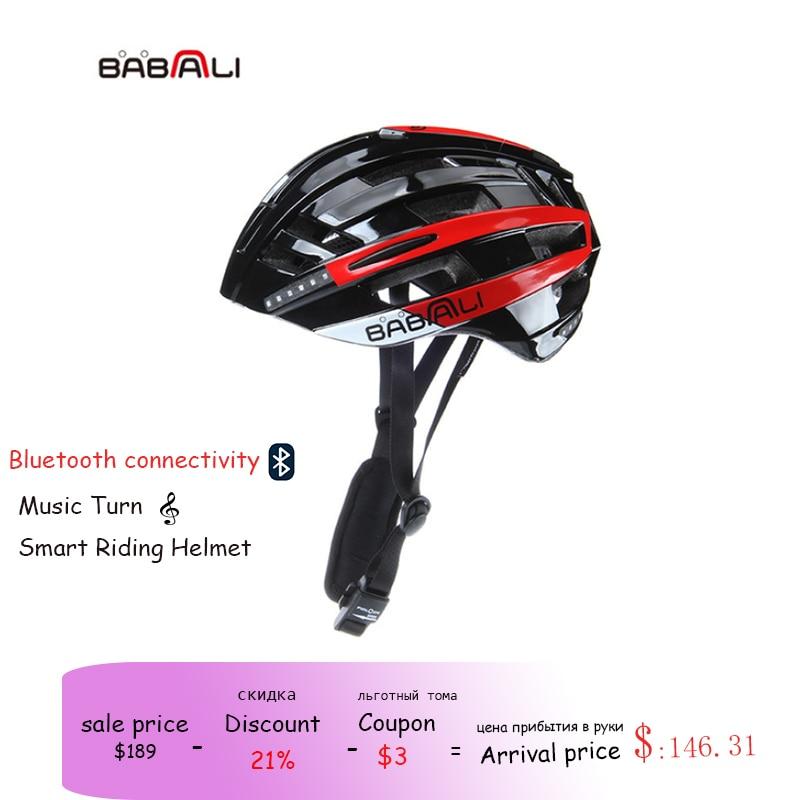 Babaali capacete de bicicleta ultraleve capacete de bicicleta em molde mtb bicicleta capacete led luzes indicadoras estrada montanha capacete le casque a