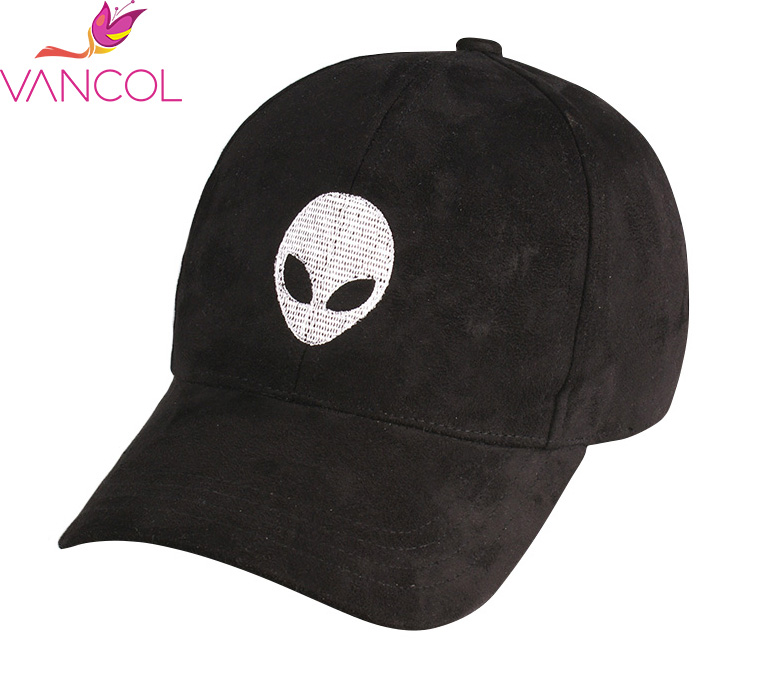 3e265aee2a6 Vancol 2016 Hot Sale Aliens Outstar Saucer Cap Soft Suede Hat Wholesale Caps  Sport Trucker Hat Black Pink Men Women Baseball Cap